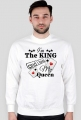"Bluza bez kaptura z długim rękawem ""I'm The King and i love My Queen"" 1 Kolor do wyboru"