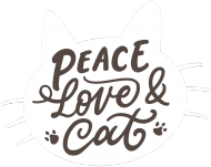 Peace, love, cat