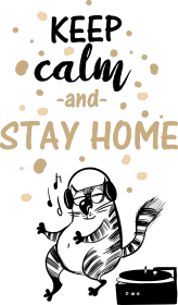 Torba- Keep calm and stay home