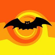 Maseczka Nietoperz Halloween