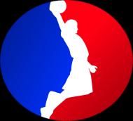 Basketball player RED_BLUE poszewka
