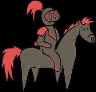 Czarno-czerwony Rycerz! (ziomki)