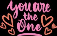 Koszulka You are the one