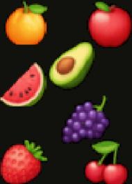 Fartuch kuchenny z owocami
