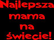 Miś na Dzień Matki