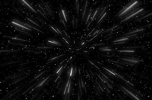 Maseczka kosmos space gwiazdy