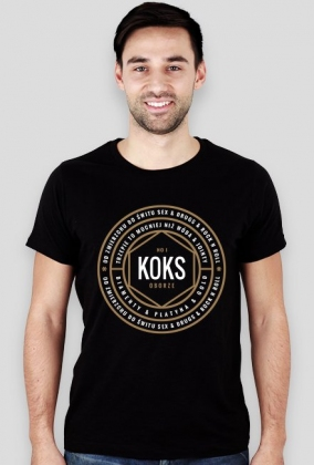 NO1 KOKS X WIDE NECK TSHIRT
