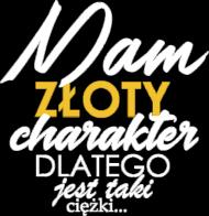 Koszulka damska - Złoty charakter