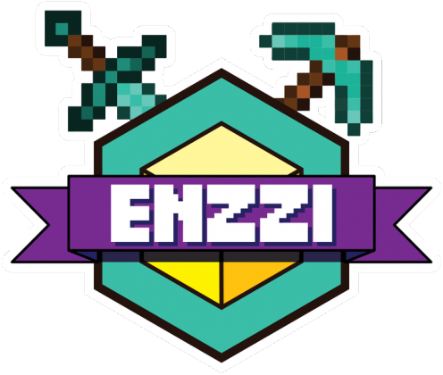 Enzzi - Minecraft Męska