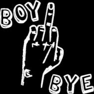 BOY BYE (bluza męska z kapturem)
