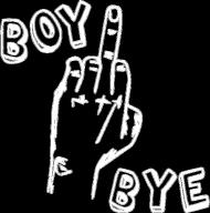BOY BYE (bluza damska)