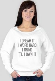 DREAM IT (bluza damska)