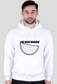DRINKIN' (bluza męska z kapturem)