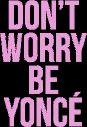DON'T WORRY (poszewka)