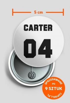 CARTER 04 (przypinka)