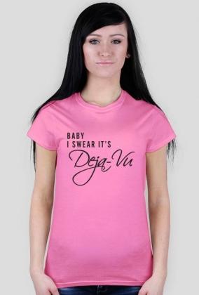 DEJA VU (koszulka damska)