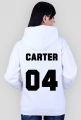CARTER 04 (bluza damska zapinana z kapturem)