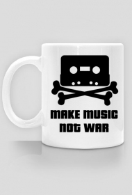 Kubek Make MUSIC not War.