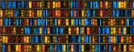 Półki z książkami - kubek termiczny
