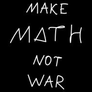 Wlepki czarne - MAKE MATH