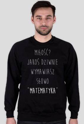 Bluza czarna - MIŁOŚĆ? ♂