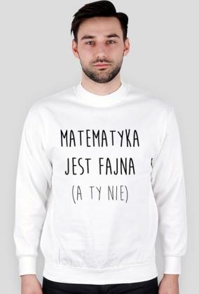 Bluza biała - FAJNA MATEMATYKA