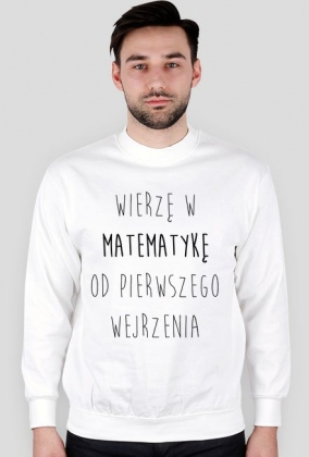 Bluza biała - MATEMATYKA OD PIERWSZEGO WEJRZENIA