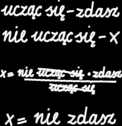 Oversize czarna - NIE UCZĄC SIĘ... ♀