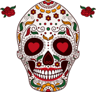 Skull Love Woman