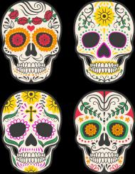 Skull Quartet 3 Man