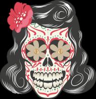 She 50's Skull Woman