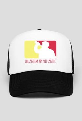 Chluśniem aby nie uśnieć - czapka