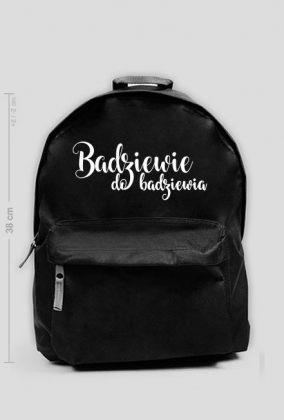 Badziewie do bardziewia - plecak