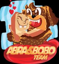DAMSKI T-SHIRT - ABRA & BOBO TEAM