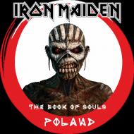 "Bluza z kapturem IRON MAIDEN ""The Book of Souls"" POLAND"