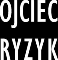 Koszulka OJCIEC RYZYK (biały napis)
