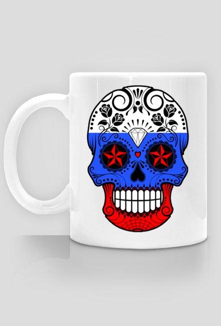 Russian Skull Mug