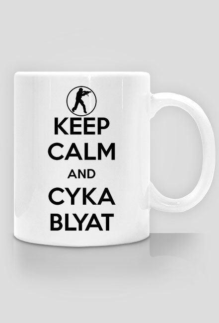 Keep Calm and Cyka Blyat Mug