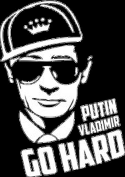Putin Go Hard pánská mikina