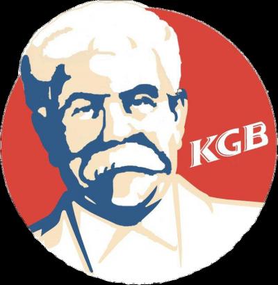 KGB Koszulka Damska