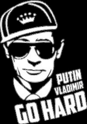 Putin Go Hard Męska Bluza