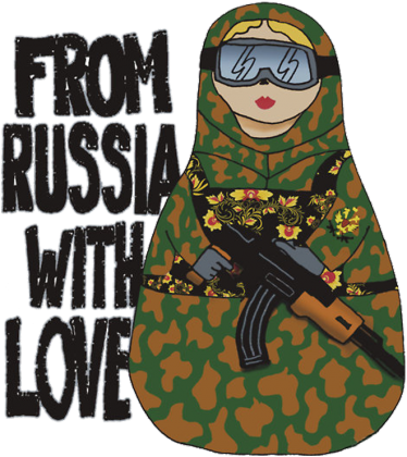 From Russia With Love Bluza Męska