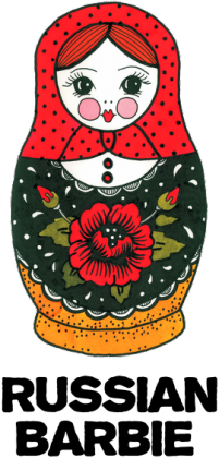 Russian Barbie Mug