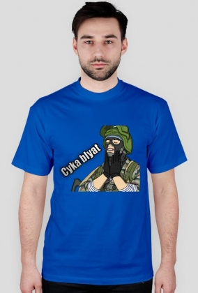 a9a4e49499ca Cyka Blyat - men's t-shirts in Russia Wear