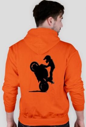 Motocykle to mój nałóg ! Bluza M