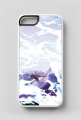 iPhone 5/5s case white - Surfer