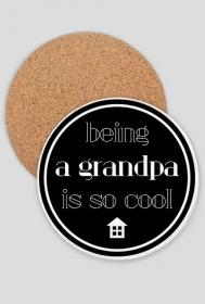 Cool grandpa - podkładka