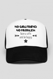 Have a wife & be happy - czapka