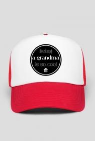 Cool grandma - czapka