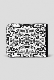Nieaztecki wzór - portfel